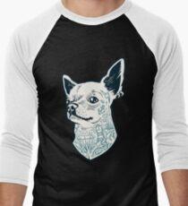 Tattooed - brutal dog Men's Baseball ¾ T-Shirt
