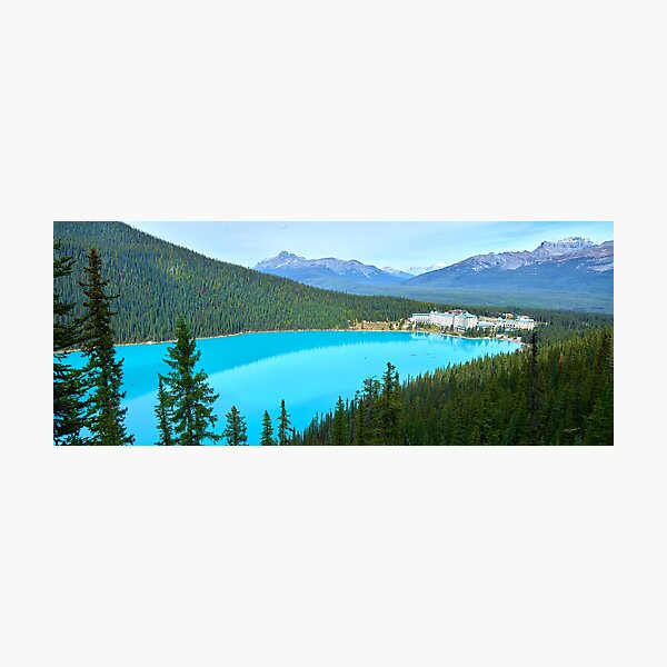 Lake Louise Perfection Photographic Print