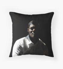 black male Throw Pillow