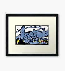 Dreadful Category IV Dragon. Extremely Dangerous.  Framed Print