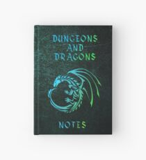 Dungeons and Dragons Notizbuch Grün Notizbuch