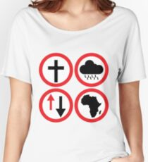Toto - Africa: Bless Rains Down Africa Women's Relaxed Fit T-Shirt