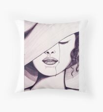 Fashion Meloncholy  Floor Pillow