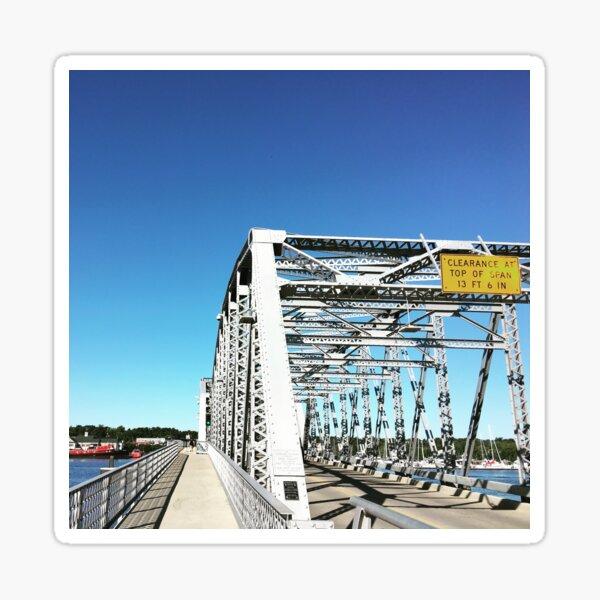 birthday bridge Sticker