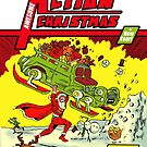 Action Christmas -  Super Santa! by Jokertoons