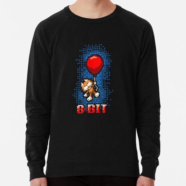 Retro Pixel Cat Lightweight Sweatshirt