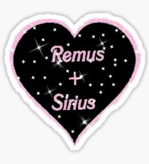 Remus and Sirius forever Sticker