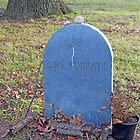 The Grave Of Mary Surratt by Cora Wandel
