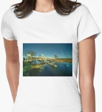 Dudleys Bridge  Women's Fitted T-Shirt