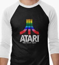 Atari Retro Faded Men's Baseball ¾ T-Shirt