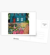 Willow Street Garden Postcards