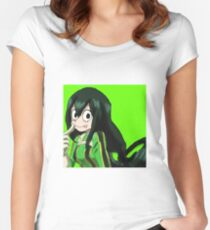 Frog Girl Women's Fitted Scoop T-Shirt