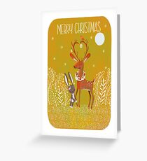 Winter friends Greeting Card