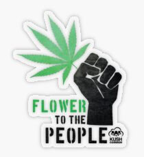 Flower to the People Transparent Sticker