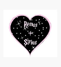 Remus and Sirius 4eva Photographic Print