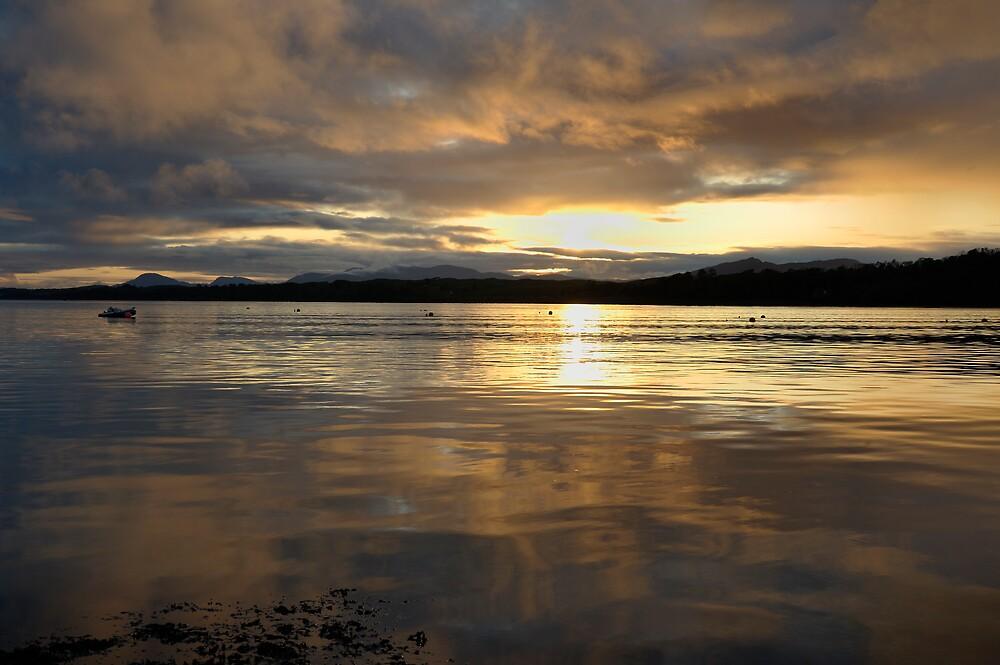 Lynn of Lorne Sunset by Jamie Buchanan