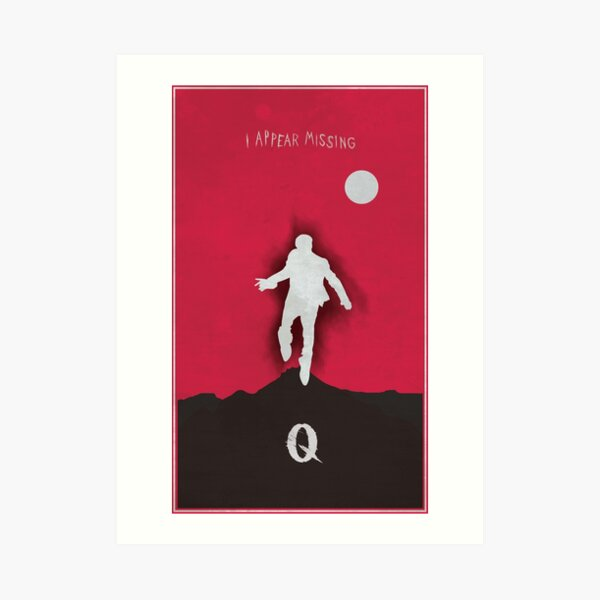Queens of the stone age - I appear missing art (Tall) Art Print