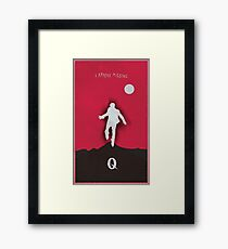 Queens of the stone age - I appear missing art (Tall) Framed Print