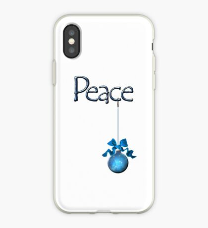 Holiday Peace  iPhone Case