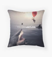 You Are Limitless, Like A Balloon Throw Pillow