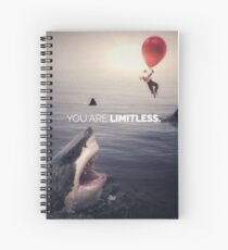You Are Limitless, Like A Balloon Spiral Notebook