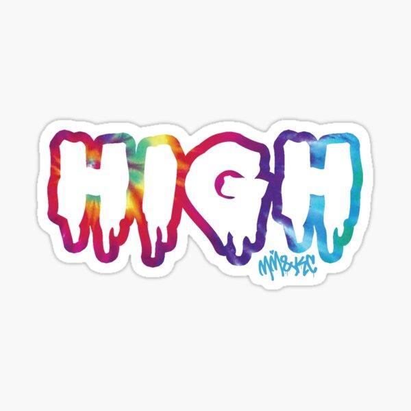 High Glossy Sticker
