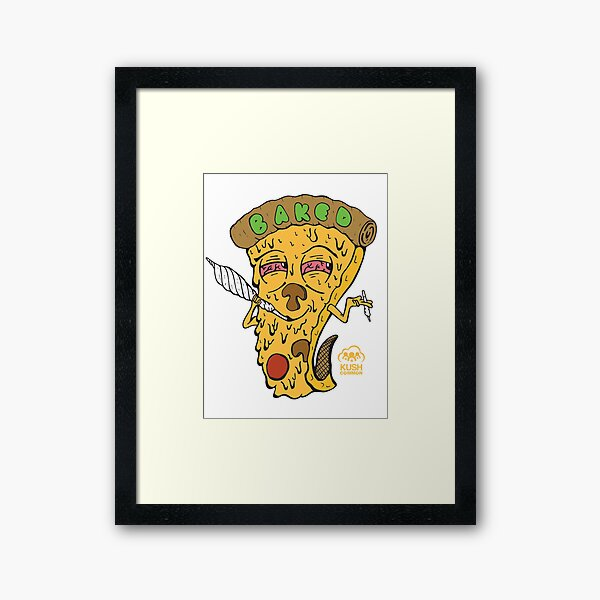 Baked Framed Art Print