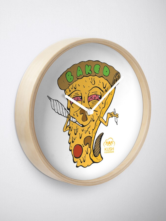 Alternate view of Baked Clock