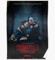 Stranger Family Poster Poster