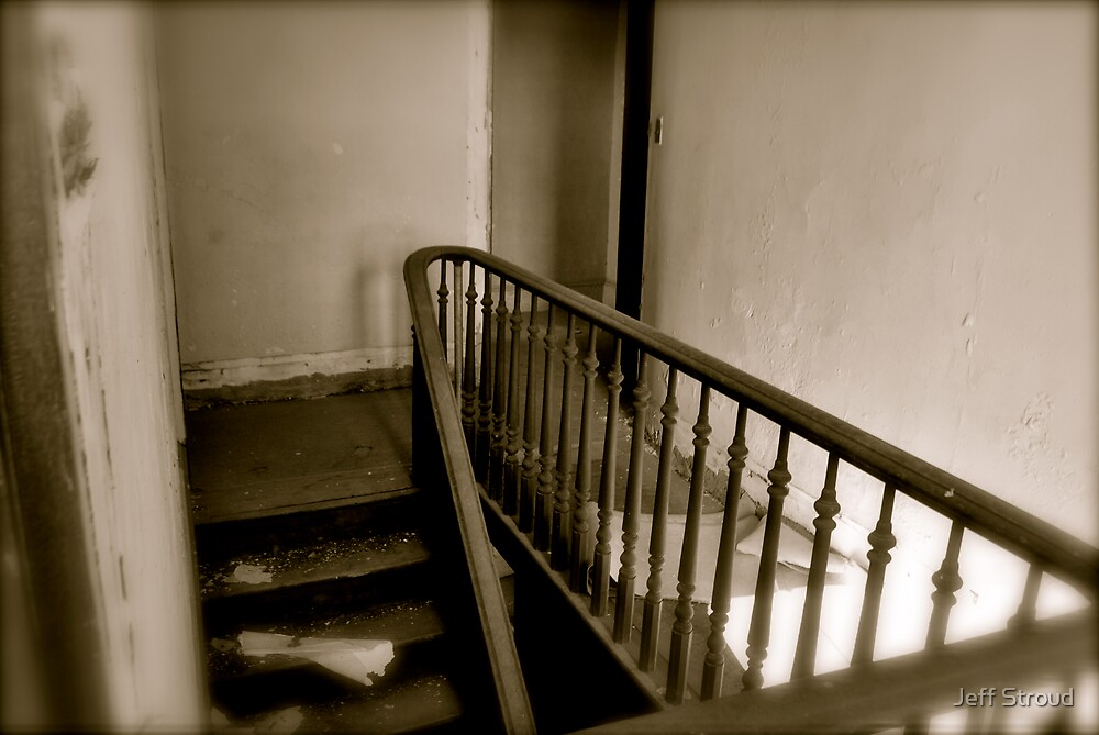 landing stairs by Jeff stroud