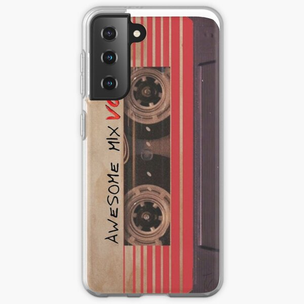 Awesome Mix vol.2 Samsung Galaxy Soft Case