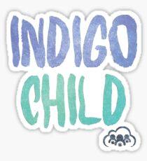Indigo Child Sticker