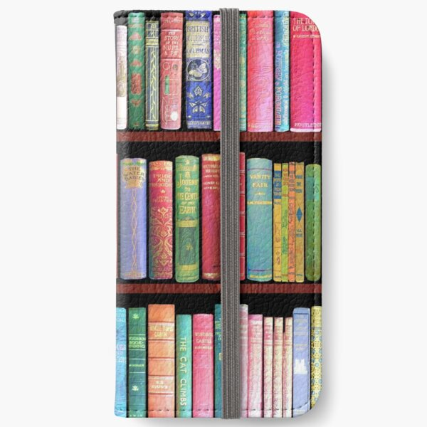 Bookworm Antique books iPhone Wallet