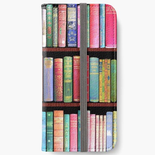 Bookworm Antique books iPhone Wallet