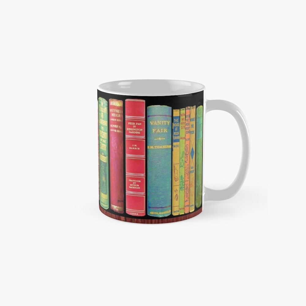 Bookworm Antique books Mug