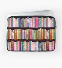 Bücherwurm Antike Bücher Laptoptasche