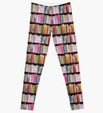 Bookworm Antique books Leggings
