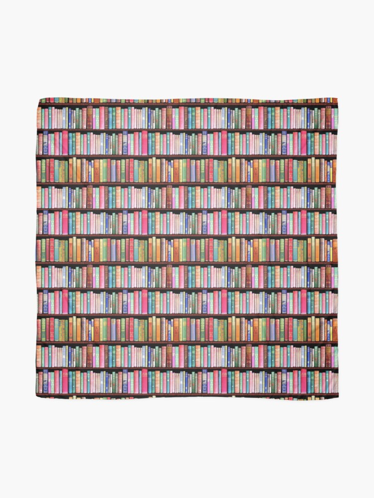Alternate view of Bookworm Antique books Scarf