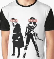Lady Justice Graphic T-Shirt