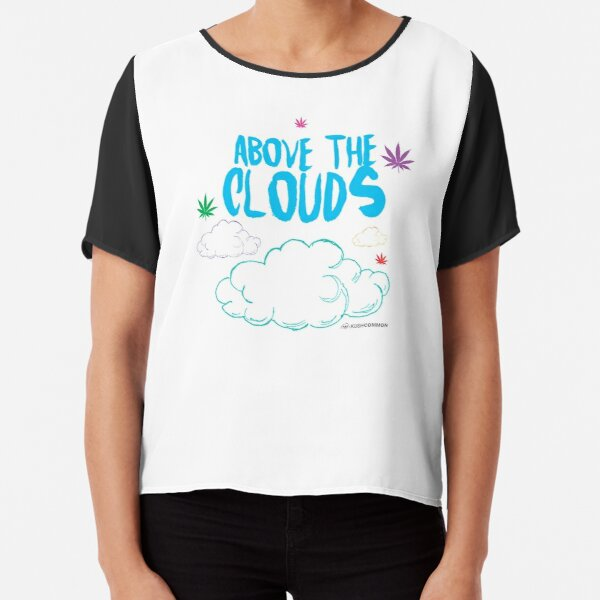 Above the Clouds Chiffon Top