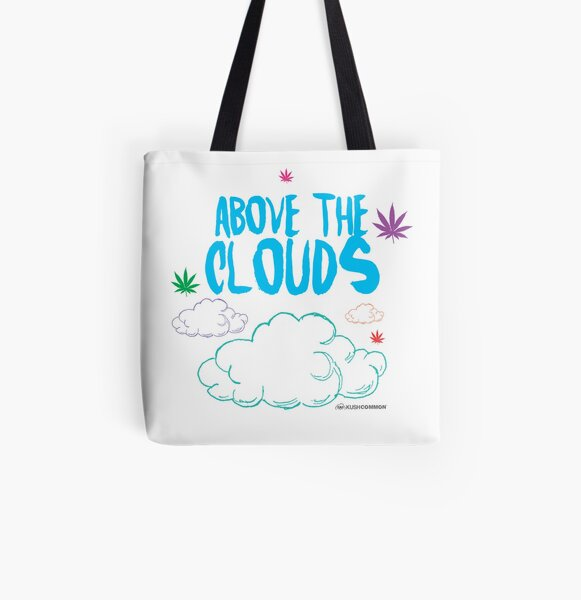 Above the Clouds All Over Print Tote Bag