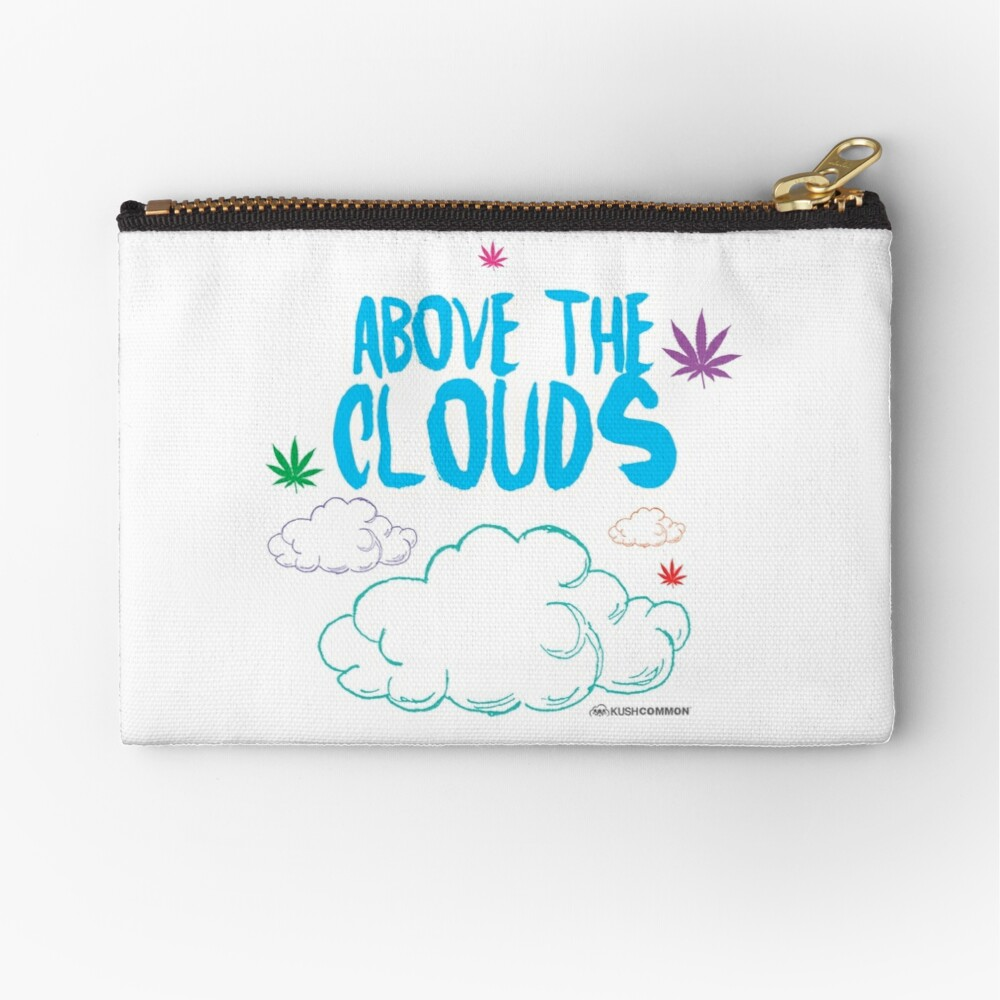 Above the Clouds Zipper Pouch