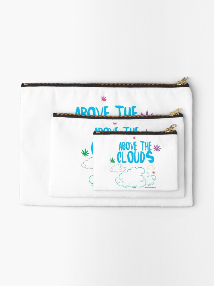 Alternate view of Above the Clouds Zipper Pouch