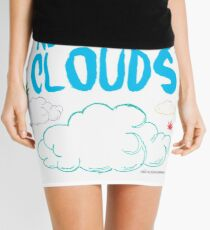 Above the Clouds Mini Skirt