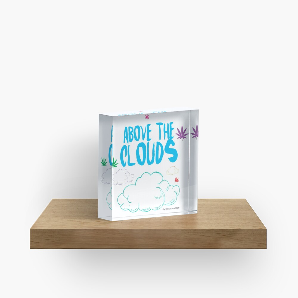 Above the Clouds Acrylic Block