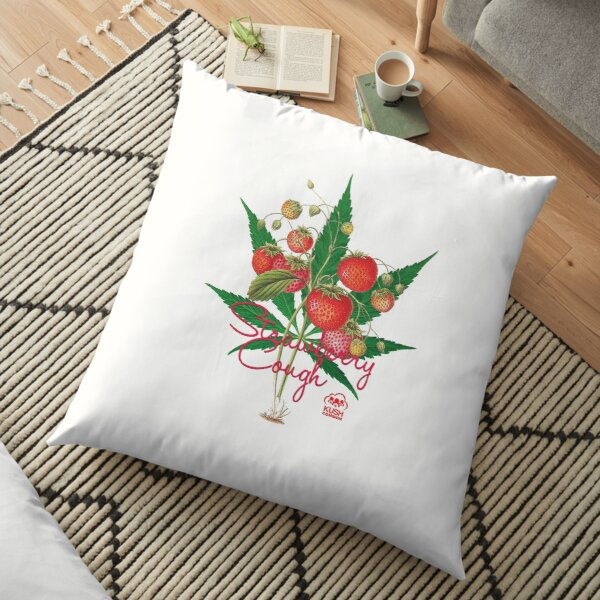 Strawberry Cough Floor Pillow