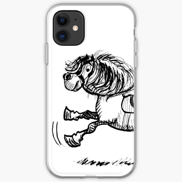 Cyril Gallops Off iPhone Soft Case
