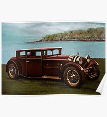 Voisin C20 Mylord Demi-Berline 1931 Painting Poster