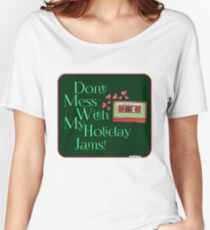 Love My Holiday Jams! Women's Relaxed Fit T-Shirt