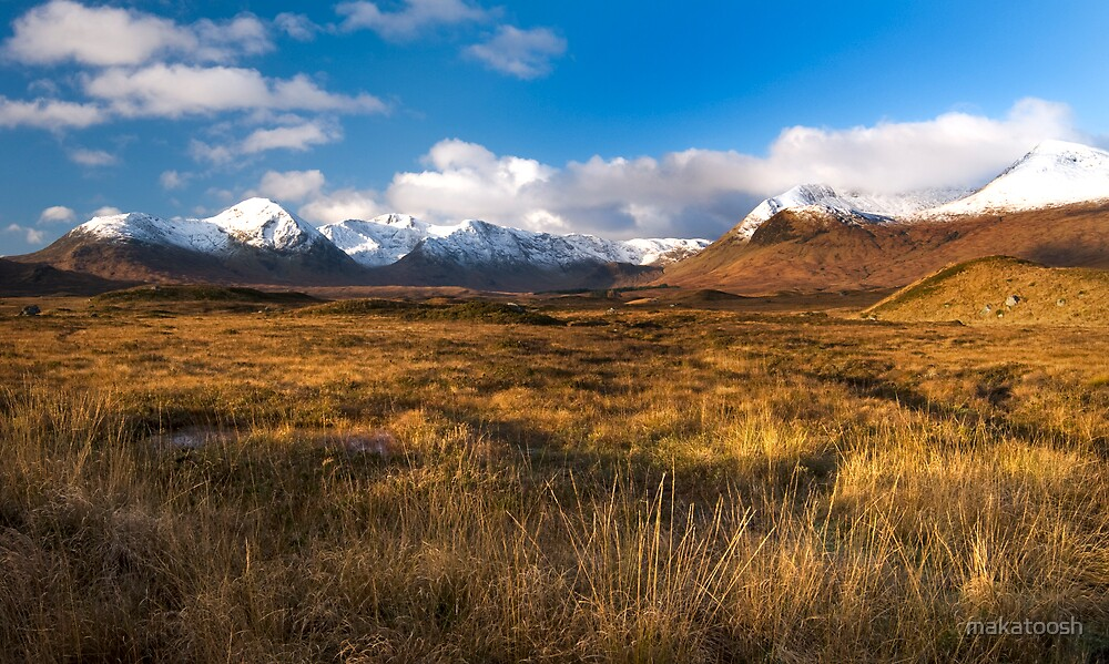 Rannoch Moor, Scottish Highlands by makatoosh